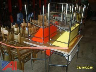 Student Chairs and Drawing Tables