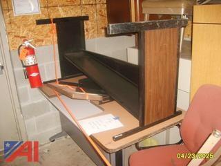 Chairs, Credenza, Computer Desks