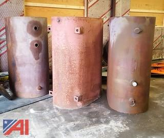 (3) Assorted Fuel Oil Tanks