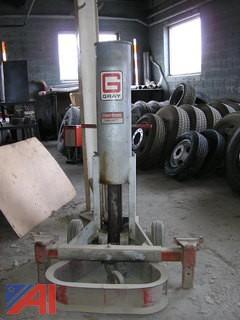 Gray TNT550 Hydraulic Air Lift