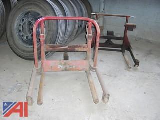 (2) Manual Wheel Dollies