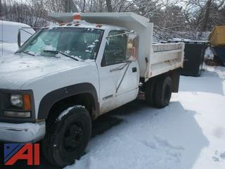 1995 Chevrolet 3500 Dump