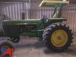 Early 80's John Deere 4040 Tractor