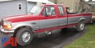 1996 Ford F250 XLT Extended Cab Pickup