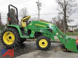 2013 John Deere 3320 Compact Tractor