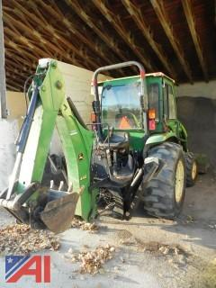 2005 John Deere 4320 Backhoe Loader