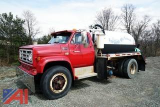 1983 GMC 7000 Sewage Vacuum Pump Truck