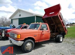 1990 Ford F350 Dump Truck