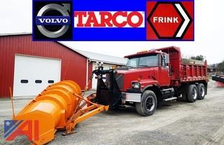 1998 Volvo Tarco All Season Dump & Plow Truck