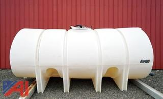 2500 Gallon Poly Water/Salt Brine Tank