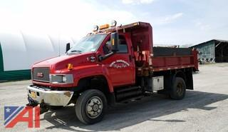 2007 GMC C550 10' All Season Dump Truck