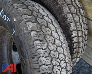 (2) 235/80R17 Truck Tires