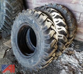 (3) 10.00-20 EM-2 Excavator Tires