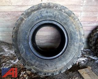 (1) Michelin 20.5R25 XTLA Loader Tire