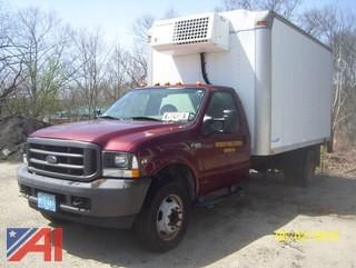 2004 Ford F450 Refrigerated Box Truck