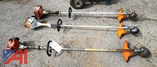 (3) Stihl String Trimmers