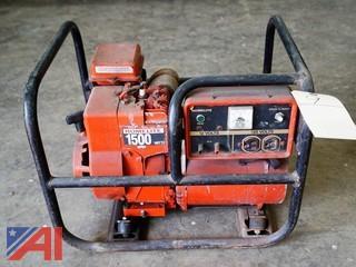 Homelite 1500 Watt Portable Generator