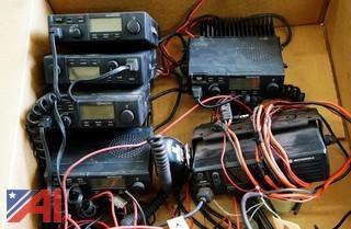 (6) Motorola & Kenwood 2 Way Radios