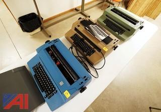 (4) IBM Typewriters