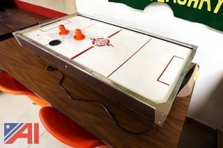 Vintage Coleco Power Jet Air Hockey Table