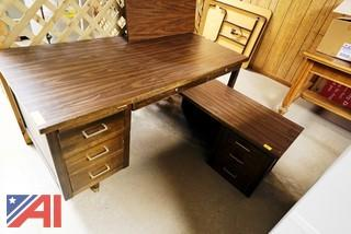 (4) Assorted Office Desks