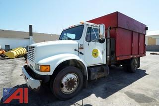 1991 International 4600LP Dump Body Chipper Truck