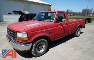 1992 Ford F150 Custom Pickup Truck