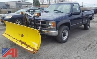 1998 Chevrolet K2500 Pickup Truck & Plow