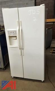 Hot Point Side by Side Refrigerator