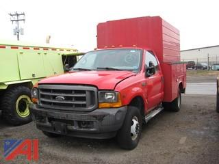 2001 Ford F350 Utility Truck