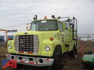 1984 Ford 8000 Water Cannon Truck