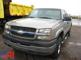 2003 Chevy Silverado 2500 HD Pickup