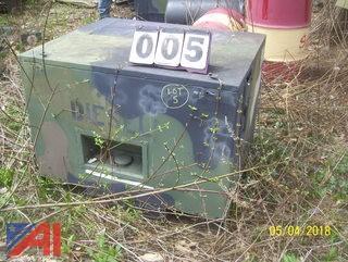 120,000 BTU Diesel Fired Heater