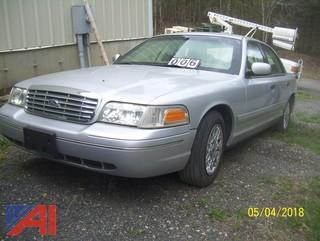 2002 Ford Crown Victoria Tactical Sedan