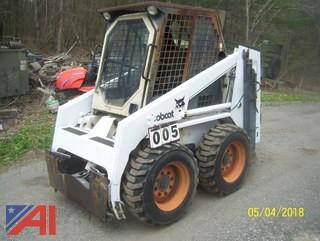 1998 Bobcat 743B Skid Steer Loader