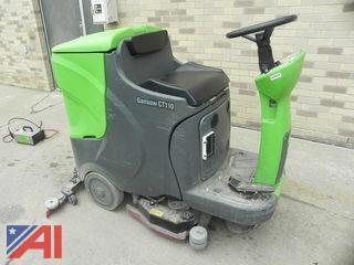 Gansow CT110 Heavy Duty Compact Rider Scrubber
