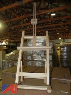 (75+) Various Size Wooden Easels