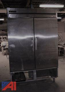 True 2 Door Reach-in Freezer