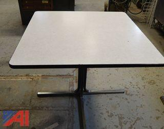 (7) Square Tables