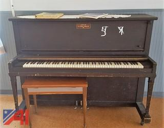 Haddorf Upright Piano