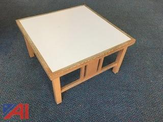 (4) Square Tables