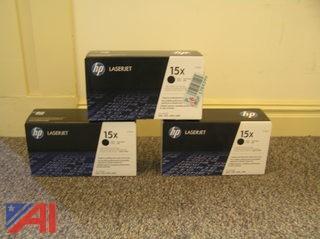 (3) HP Laserjet Toners