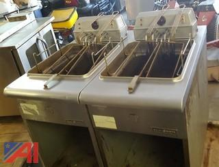 (2) General Electric Deep Fryers