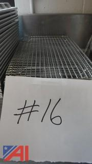 (7) Stainless Steel Cooling Racks
