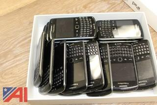 (15) Sprint Blackberry Curve Cell Phones