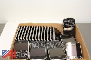 (34) Verizon Blackberry Bold Cell Phones