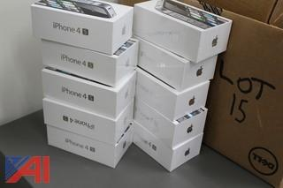 (10) Apple iPhone 4S Cell Phones
