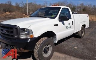 2003 Ford F250 XL Super Duty Utility Truck