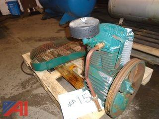 Steel Tank Shell / Compressor Motor