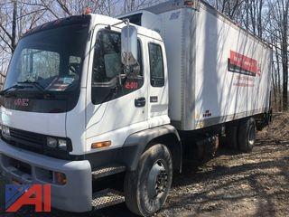 **Reserve Lowered** 2008 GMC T7500 20' Box Truck